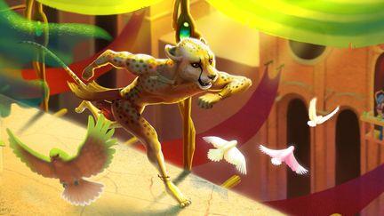 Run, cheetah!
