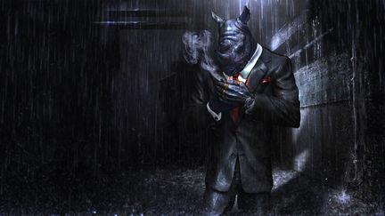 Rhino in Suit