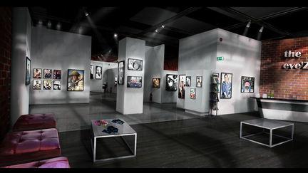 Art gallery - Life is Strange