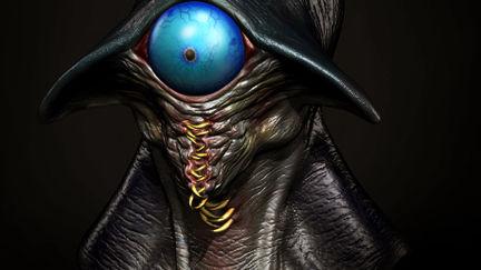 Concept Of Creature.