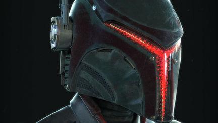 Star Wars Reimagined   Robo Fett Portrait