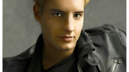 Justin Hartley Portrait