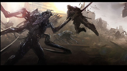 Edge of Tomorrow: Early Concept Art