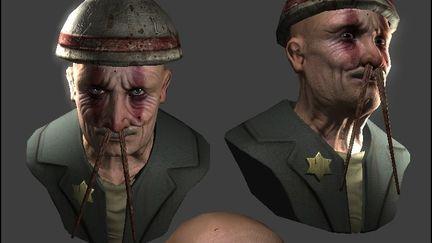 Realtime Art : RICEMAN bust