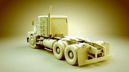 Truck Model back