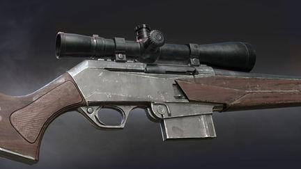 BAR Mk3 Rifle