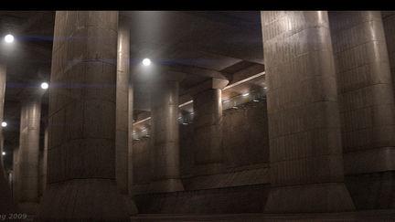 Environment: Tokyo Underground Drainage System
