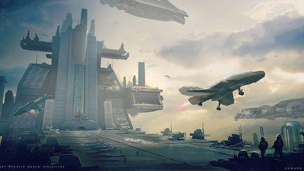 Starcitizen landing deck