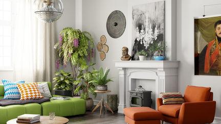 Bohemian Modern Interior
