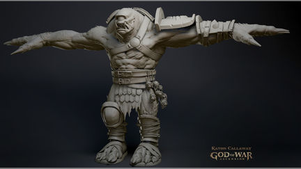 God of War Acension Sculpts