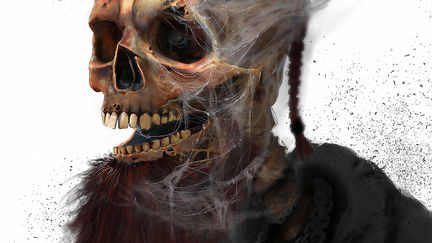 redhair skull