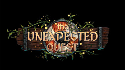the unexpecter quest - game logo