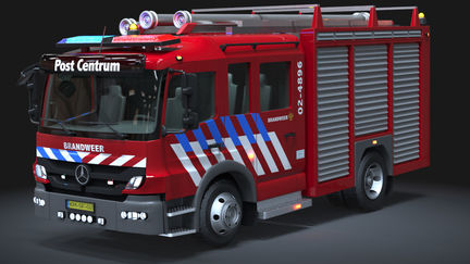 Automotive Modeling: Fire Truck
