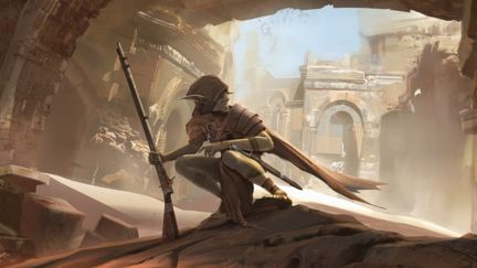Goblins. Abandoned ruins