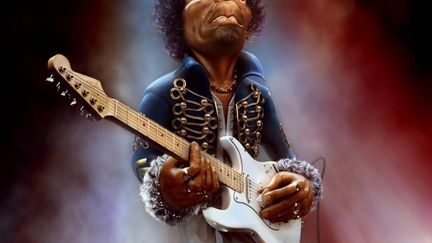 Jimi Hendrix - The Guitar Legend, Marcin Klicki