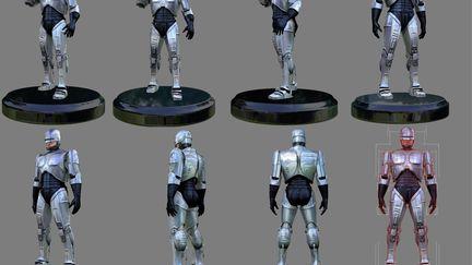 Robocop, Game Character