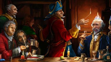 baron Munchausen and the bibber General