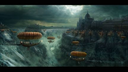 Budapest - Fantasy Panorama