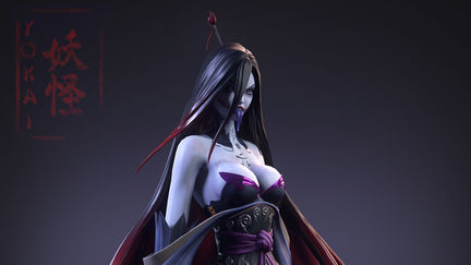 Feudal Japan: The Shogunate: Yokai (Game Art Challenge)