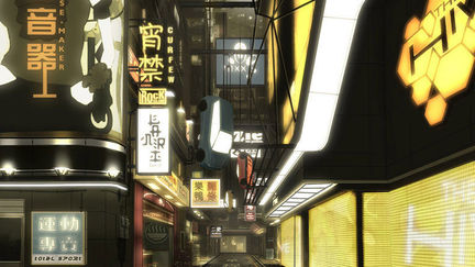 Deus Ex Human Revolution: The Hive Side Street