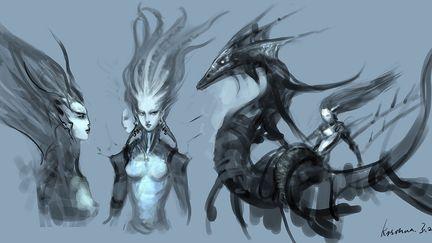Princess of the Race about deepsea