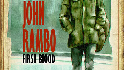 Rambo First Blood, the Pulp Cover