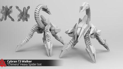 Cybran Game units (Supreme Commander 2 mod)