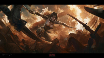 Battle in the temple of the sun, Amaterasu Guardian