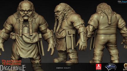 Dwarve NPC sculpt