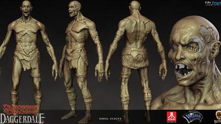 Ghoul sculpt