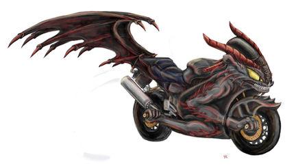 Black Dragon Motorcycle