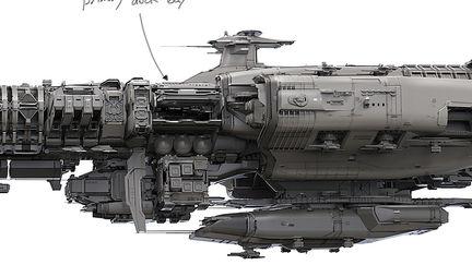 space ship 2a