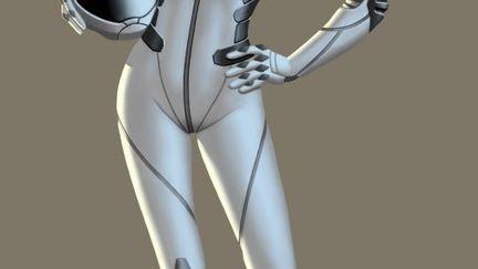 Galactic Melee - Space Girl