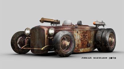 Ford roadster grunge version...