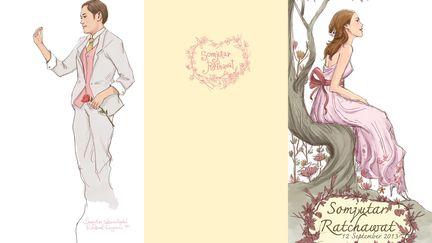 Wedding crad