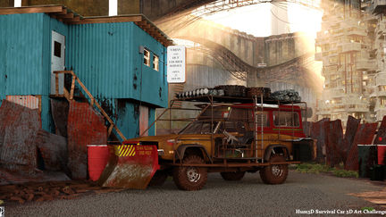 Urban and Out - Hum3D Survival Car