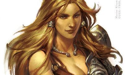 Amazon - Blade of Darkness fan-art