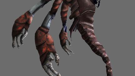 Multi limb monster