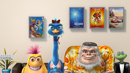 Pixar casting