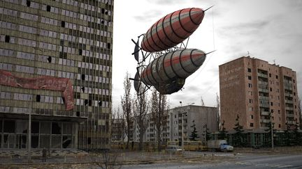 Abandoned city...