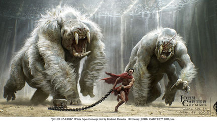 John Carter - White Apes Key Frame