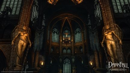 Sinister cathedral
