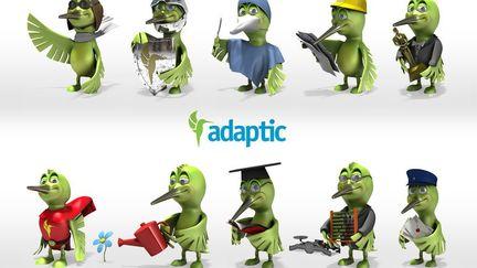 Adaptic character colibri