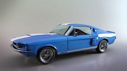 1967 Shelby GT500 Studio Lighting