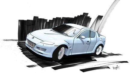 Mazda RX-8 Sketch