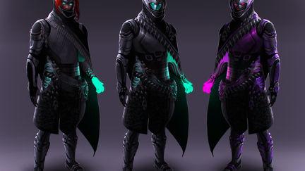 Destiny: Warlock redesign