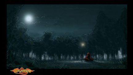 Darkened Forest