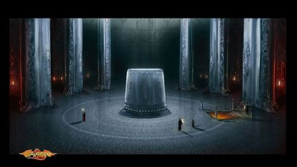 Enter to the Xak Tsaroth City