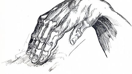 Hand Study - Burne Hogarth copy