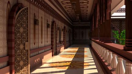 An Elegant Corridor
